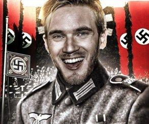 PewDiePie посмотрел на нацистов и решил больше про нацизм не шутить