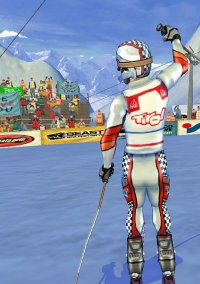 Обложка Ski Racing 2005 featuring Hermann Maier