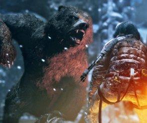 Расширенное видео Rise of the Tomb Raider: Лара и медведь