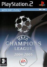 UEFA Champions League 2004-2005 – фото обложки игры