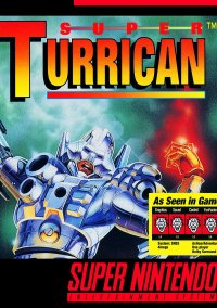 Обложка Super Turrican
