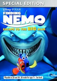 Обложка Finding Nemo: Escape to the Big Blue Special Edition
