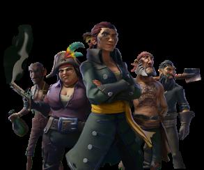 Новая игра от Rare — сетевой симулятор мультяшных пиратов