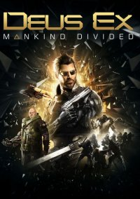 Обложка Deus Ex: Mankind Divided