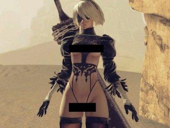 Мод для PC-версии Nier: Automata раздевает главную героиню