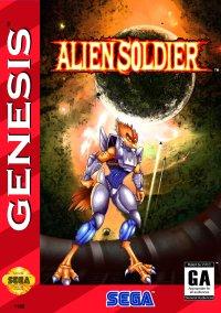 Alien Soldier – фото обложки игры