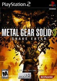 Обложка Metal Gear Solid 3: Snake Eater
