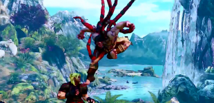 Street Fighter V. Представление персонажа Necalli