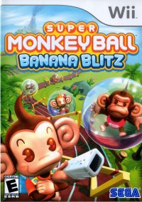 Обложка Super Monkey Ball: Banana Blitz