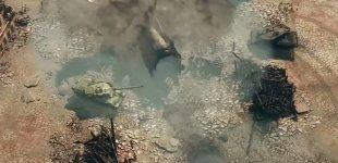 "Armored Warfare: Проект Армата. Карта ""Тихая река"""