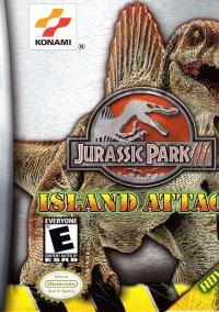 Обложка Jurassic Park III: Island Attack