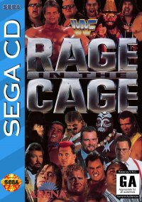 Обложка WWF Rage in the Cage