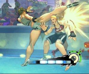 Ронда Раузи опять проиграла Холли Хольм... в Street Fighter IV
