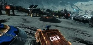 Asteroids: Outpost. Демонстрация альфа-версии игры