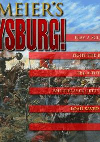 Обложка Sid Meier's Gettysburg!