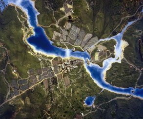 Так выглядит карта The Witcher 3 из космоса