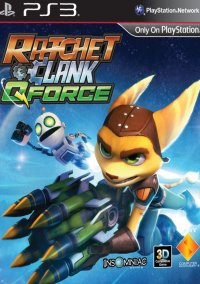 Обложка Ratchet & Clank: Q-Force