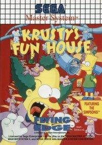 Обложка Krusty's Fun House