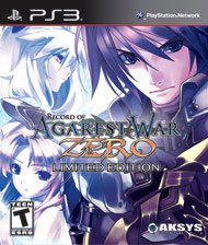Record of Agarest War Zero Limited Edition – фото обложки игры
