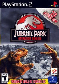 Обложка Jurassic Park: Operation Genesis