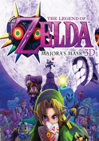 Обложка The Legend of Zelda: Majora's Mask 3D
