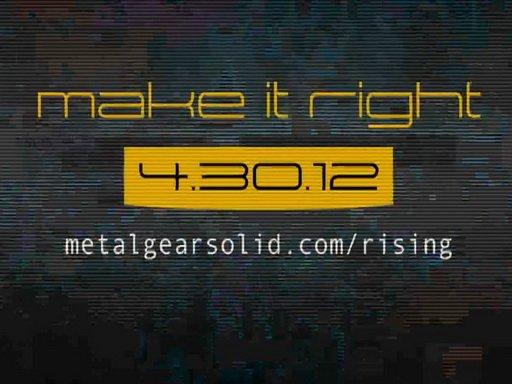 Metal Gear Rising: Revengeance. Дневники разработчиков