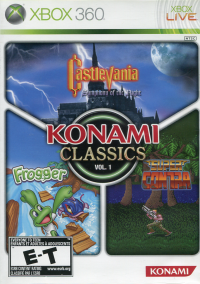 Обложка Konami Classics Vol. 1
