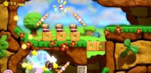 Kirby and the Rainbow Curse. Видео #2