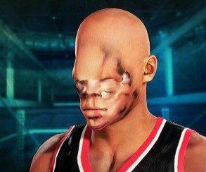 Уродливые лица игроков из NBA 2K15 превратили в маски для Хэллоуина