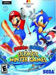 Обложка Mario & Sonic at the Olympic Winter Games