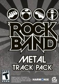 Обложка Rock Band: Metal Track Pack