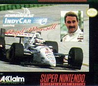 Обложка Newman-Haas Indy Car Featuring Nigel Mansell