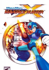 Обложка Mega Man Maverick Hunter X