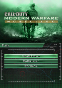 Обложка Call of Duty: Modern Warfare - Mobilized