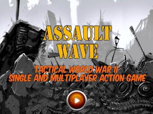 Assault Wave. Геймплейный трейлер тактического экшена