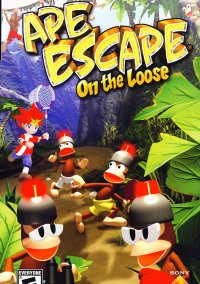 Обложка Ape Escape: On the Loose