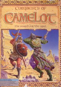 Обложка Conquests of Camelot: The Search for the Grail
