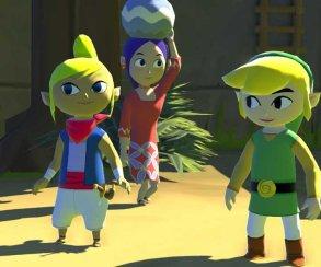 Появился трейлер игры The Legend of Zelda: The Wind Waker HD