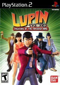 Обложка Lupin the 3rd: Treasure of the Sorcerer King