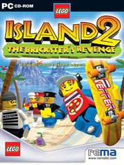 Обложка LEGO Island 2: The Brickster's Revenge