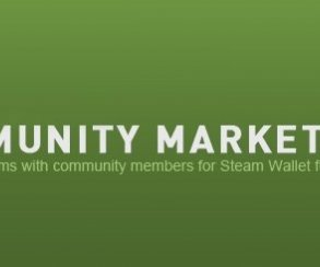 Valve запустили Steam Community Market