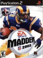 Обложка Madden NFL 2003