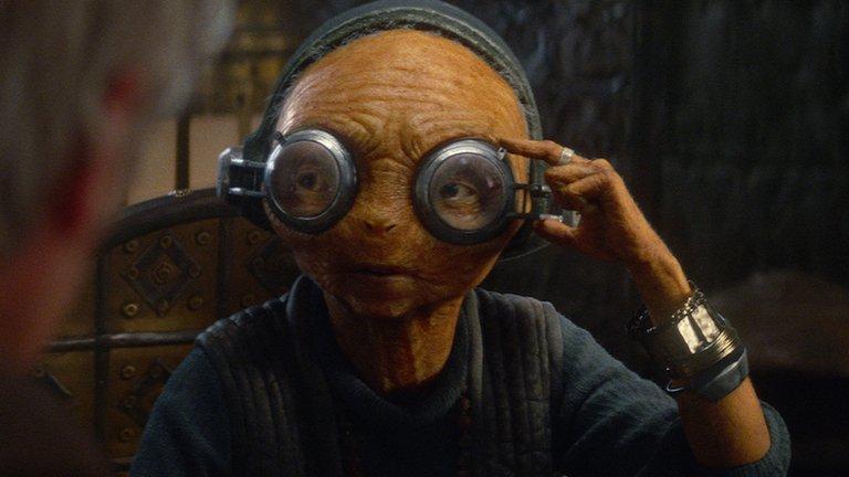 Маз Каната отметилась в восьмом эпизоде «Звездных войн» - Изображение 1