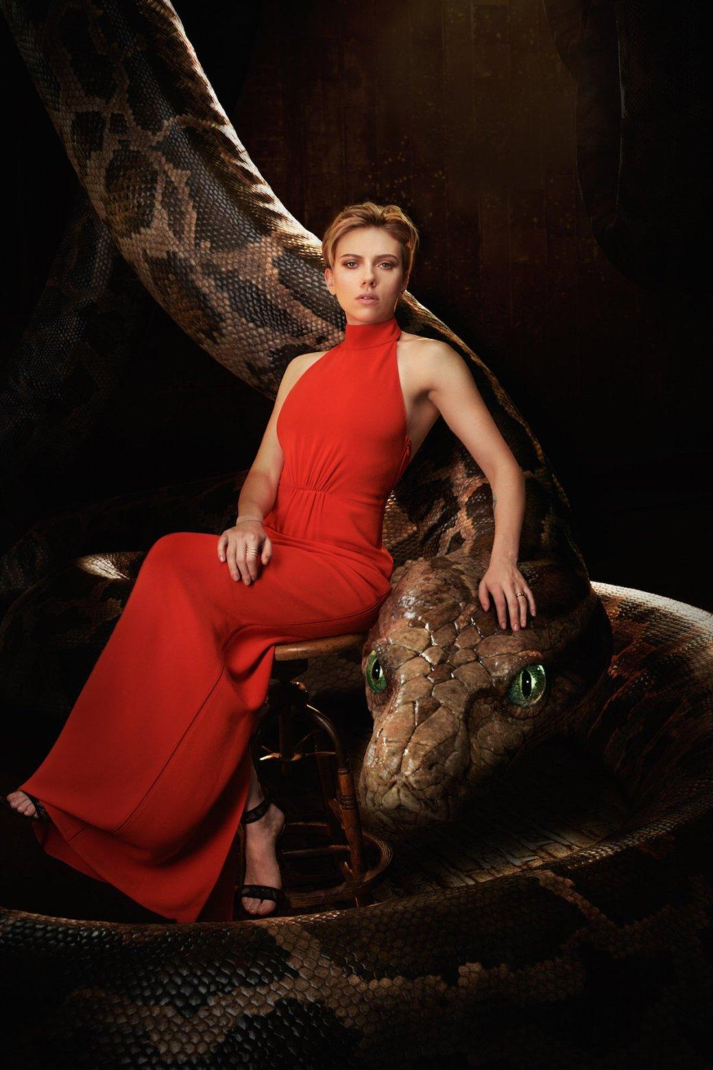 Актеров из «Книги джунглей» сравнили с животными - Изображение 1