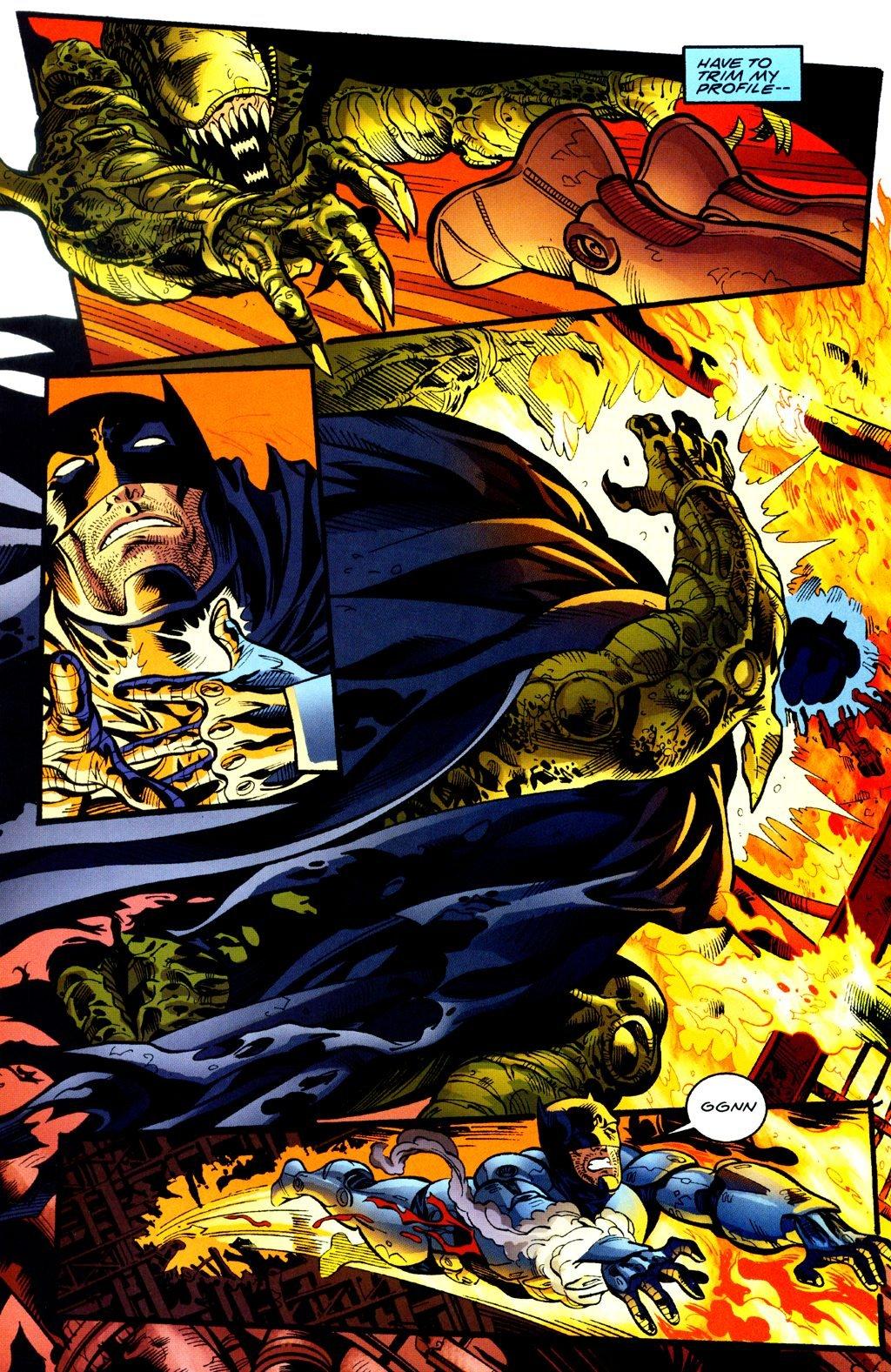 Бэтмен против Чужого?! Безумные комикс-кроссоверы сксеноморфами. - Изображение 20