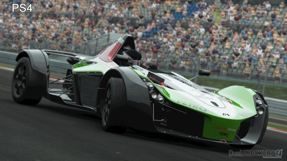 Project Cars PC vs PS4,  реальная картина - Изображение 1