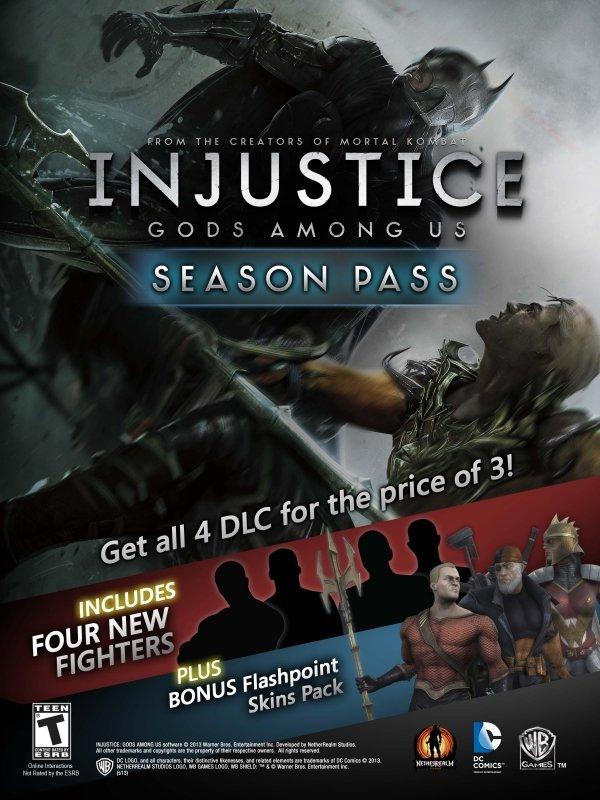 Анонсирован Season Pass для Injustice: Gods Among Us - Изображение 1
