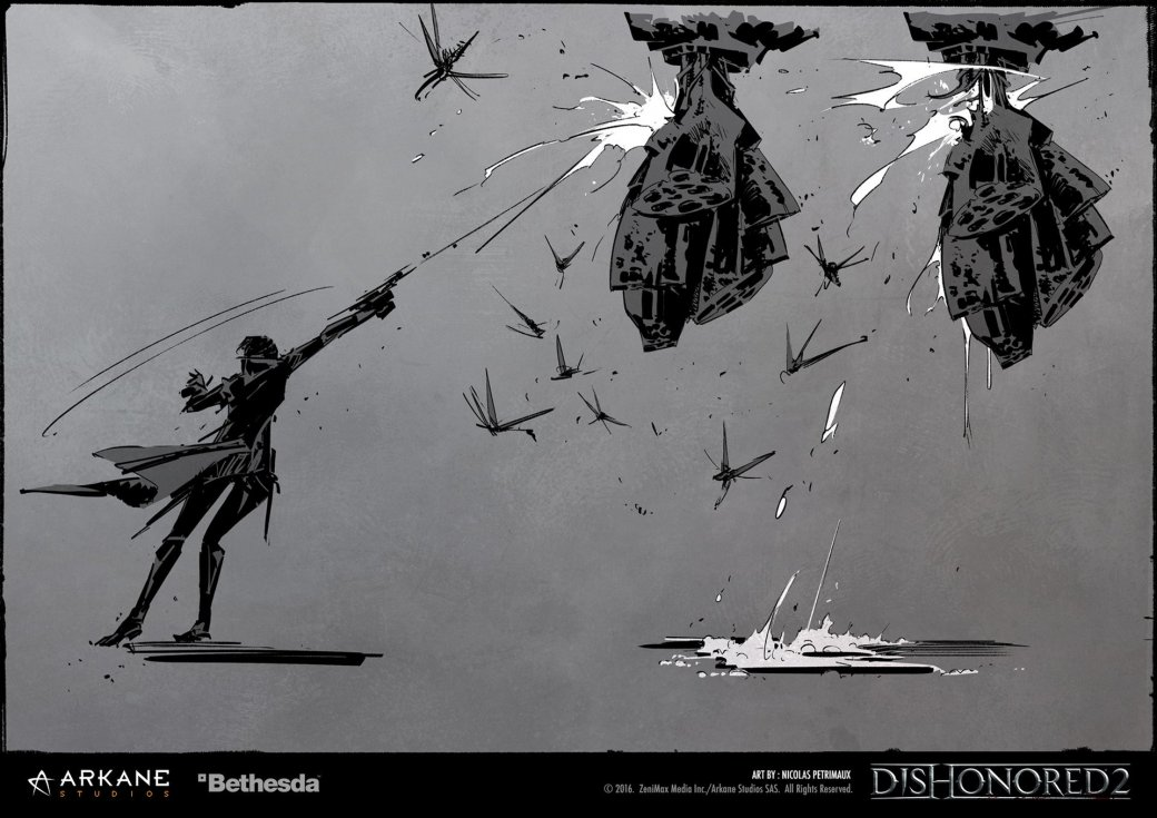 Потрясающие концепт-арты Dishonored 2 отхудожника игры - Изображение 5