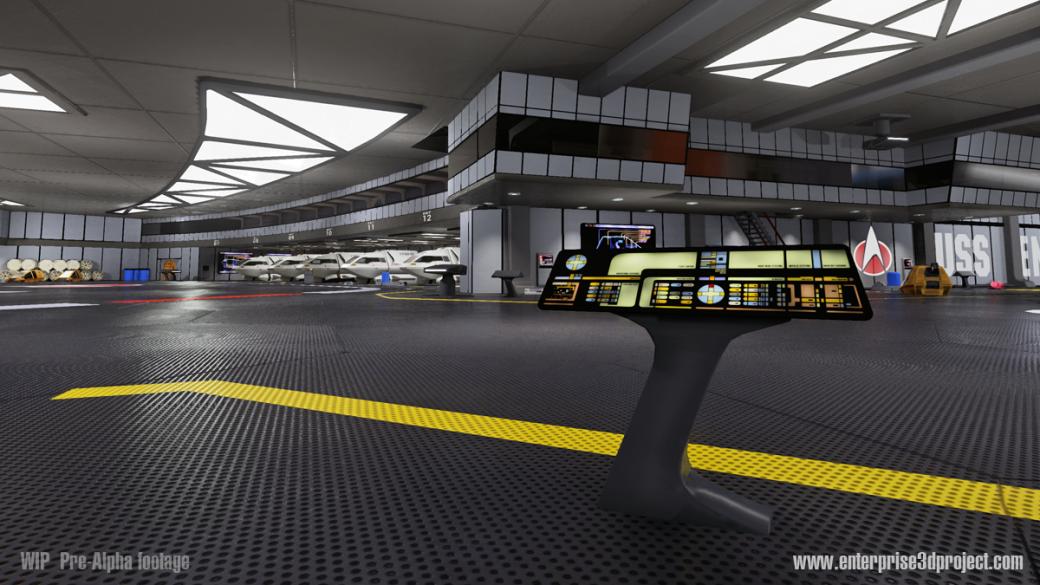 «Энтерпрайз» из Star Trek воссоздан с поддержкой Oculus VR. - Изображение 3