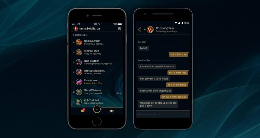 League of Legends запустила собственное мобильное приложение - Изображение 1